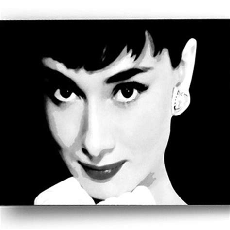 Blind Hepburn heburn printed blind picture printed blinds at artylicious