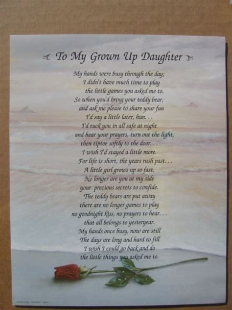 For  Ee  Daughter Ee   Poems  Ee  Daughter Ee   Poem Quotes