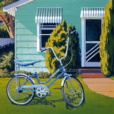 bike painting bicycles the of cynthia meyer