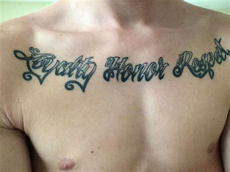 respect tattoos for men ideas and inspiration for guys