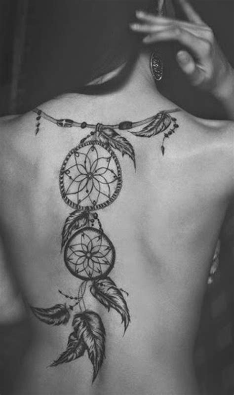 tribal dreamcatcher tattoos traditional tribal dreamcatcher back ideas