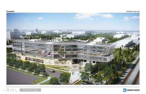 building concept denver water s operations complex redevelopment project