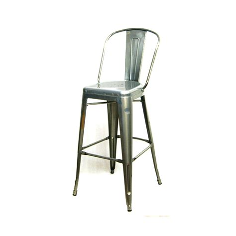 bar stools high back pewter high back tolix bar stool tablebasedepot