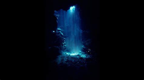 blue dive black blue dive underwater 854570