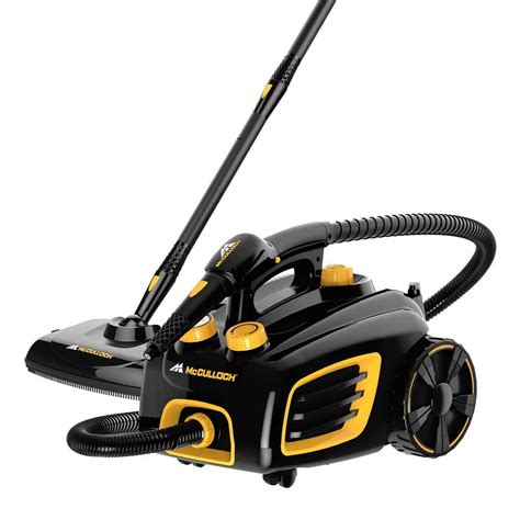 Steam Cleaning by Mcculloch Multi Purpose Canister Steam Cleaner Mc1375