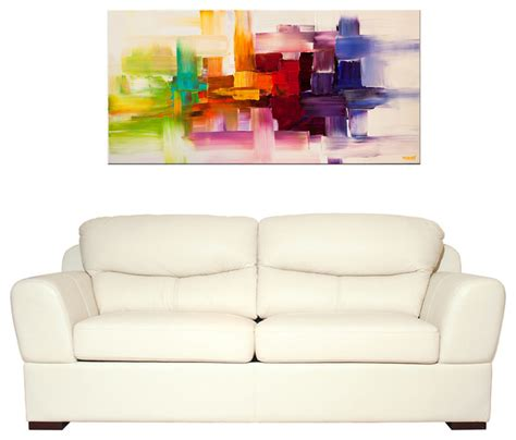 modern paintings for living room modern abstract paintings modern living room miami by osnat