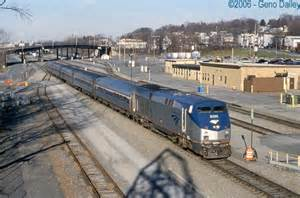 Car Rental Albany Ny Amtrak Station Amtrak Empire Service 284 Arriving At Albany