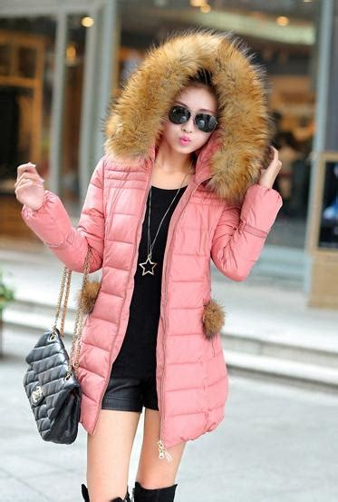 Bulu Korea Pink pink fur padded jacket kode jyza068pink zahira boutique