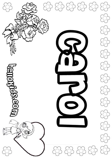 Carol Coloring Pages Hellokids Com Carol Coloring Pages