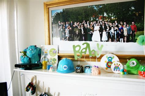 Disney Baby Shower by Clever Monsters Inc Themed Baby Shower
