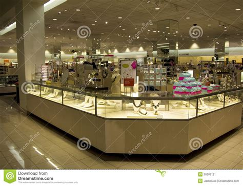 store section accessories jewelry department store stock photo image