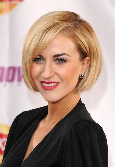 blunt haircuts for women over 50 chin length bob hairstyles with bangs hairstylegalleries com