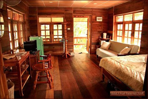woodwork room pictures details thai wooden house planning