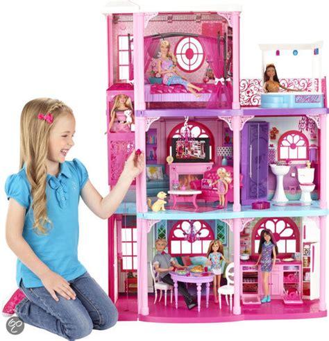 barbie luxe huis bol barbie droomhuis met 3 verdiepingen mattel