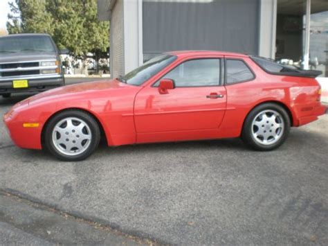 how cars run 1989 porsche 944 spare parts catalogs find used 1989 porsche 944 turbo coupe 2 door 2 5l in boise idaho united states for us 12 895 00
