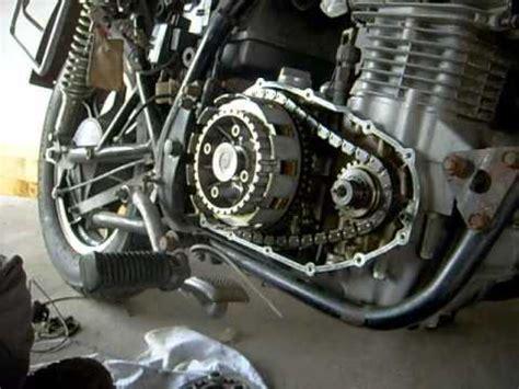 Kette Spannen Motorrad Honda by Kupplungslamellen Wechseln An Einer Kawasaki Ltd 440