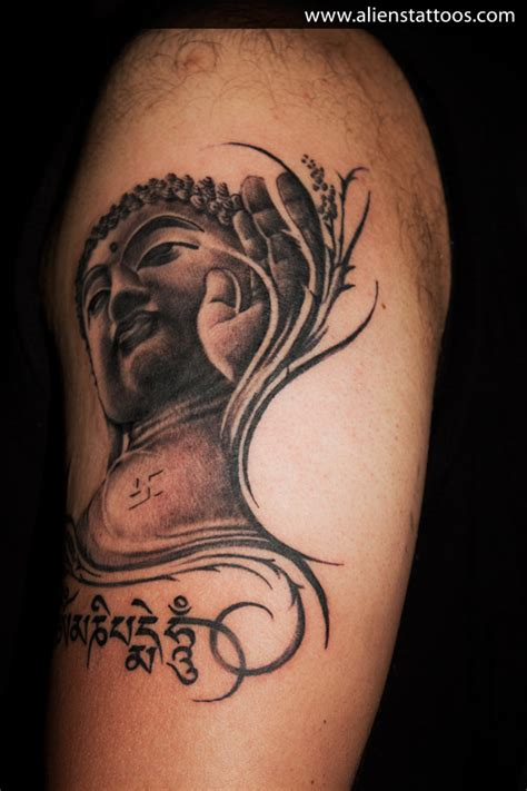 tribal buddha tattoo lord gautam buddha inked by at aliens