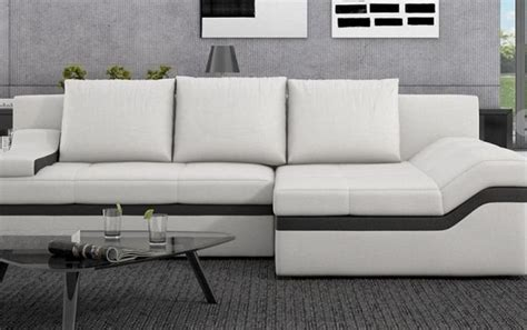 sofas en piel baratos sof 225 de piel grande barato im 225 genes y fotos