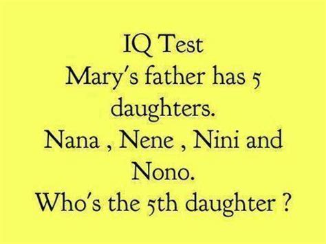 INFORMATION AT INTERNET: Simple IQ Test