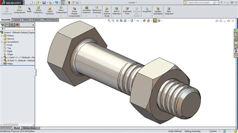 autocad nut tutorial solidworks tutorial solidworks bolt and nut tutorial