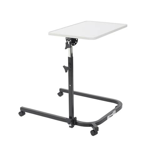 drive pivot and tilt adjustable overbed table tray 13000 the home depot