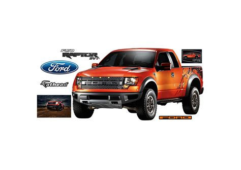 Ford F150 Raptor Wall Decal Shop Fathead 174 For Ford Decor Ford Raptor Template
