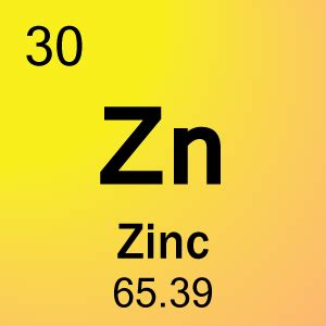 element 30 zinc science notes and projects