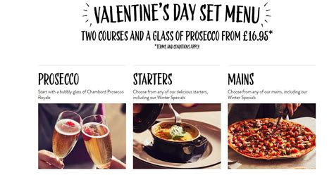 pizza express valentines day free bottle of prosecco when you book a valentines set