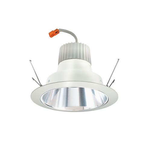 juno 6 in recessed clear cone led downlight retrofit trim