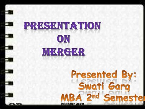 Merger And Acquisition Mba Ppt by Merger And Acquisition Ppt