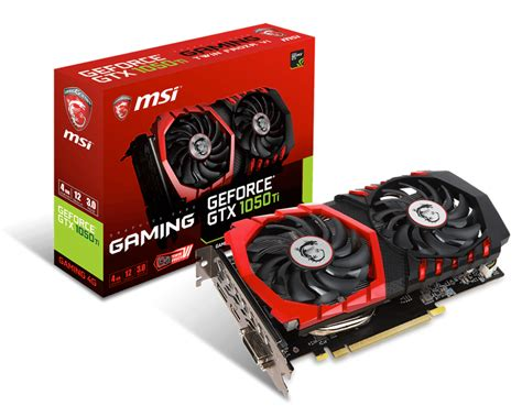 Ready Msi Gtx1050ti 4g Oc overview for geforce gtx 1050 ti gaming 4g graphics card the world leader in display