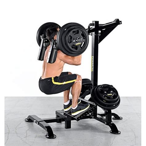 powertec leverage squat calf machine
