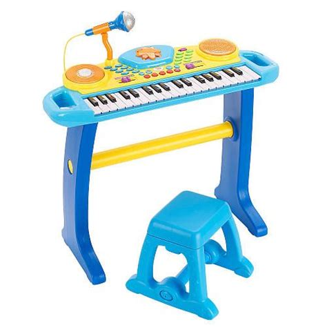 Bruin Light Up Keyboard With Stool by Toys Toys R Us And Musicals On