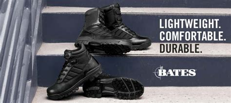 most comfortable police duty boots bates footwear canada