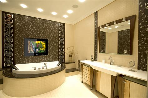 can you put a tv in the bathroom should you have a tv in your bathroom stonewood