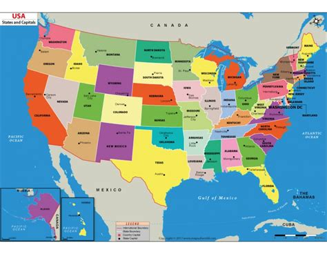 state map of usa buy us states and capitals map digital us states