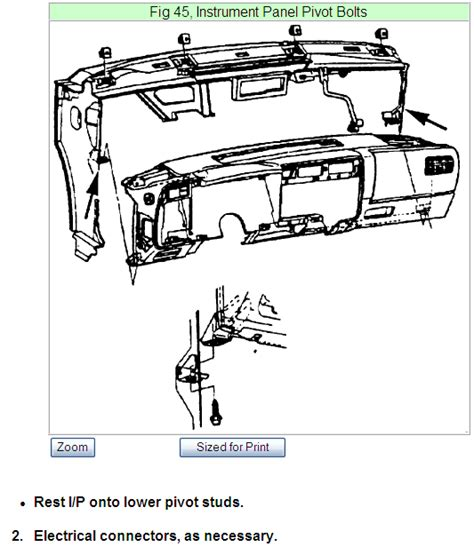 service manual how to remove dash from a 1995 chevrolet cavalier sparky s answers 2004