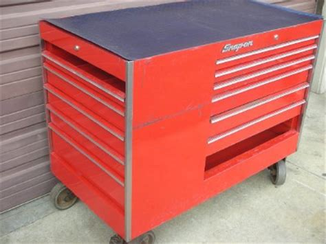 snap on work bench snap on 13 drawer 50 quot tool box storage rolling wheel cabinet work station bench