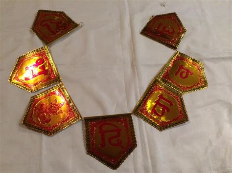 Diwali Handmade Decorative Items - handmade subh diwali door decor banner diwali welcome sign