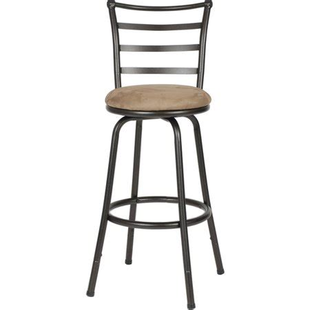 Walmart Adjustable Height Bar Stools roundhill seat bar counter height adjustable metal