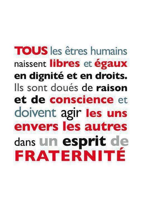 les droits de lhomme 17 best images about citations sur le voyage et la diversit 233 on french quotes