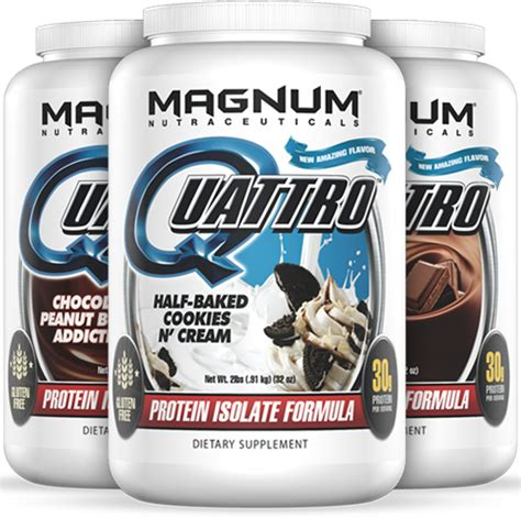 Magnum Whey Protein magnum nutraceuticals quattro at bodybuilding lowest