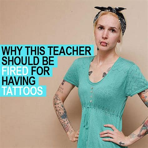 teachers with tattoos find out why this tattooed from the uk should be