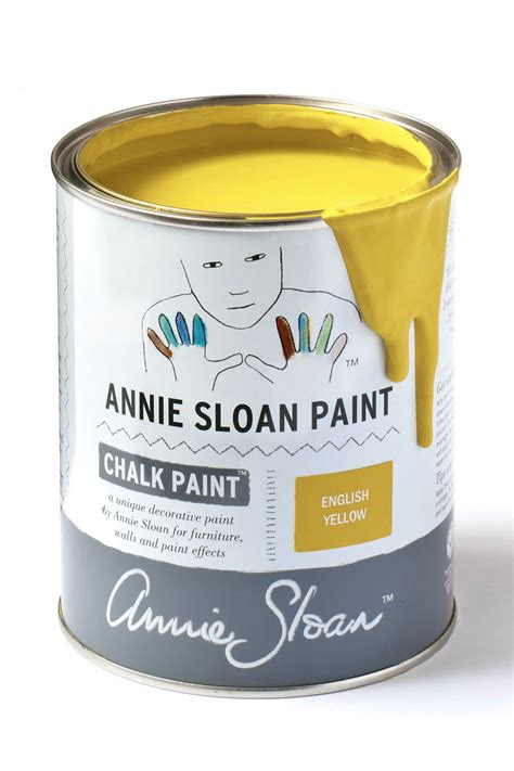 chalk paint yellow yellow chalk paint by sloan 1 litre pot