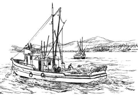 imagenes de barcos en dibujos dibujo para colorear barco pesquero img 8059