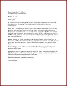 Letter Of Resignation Effective Immediately by Letter Of Intent To Resign