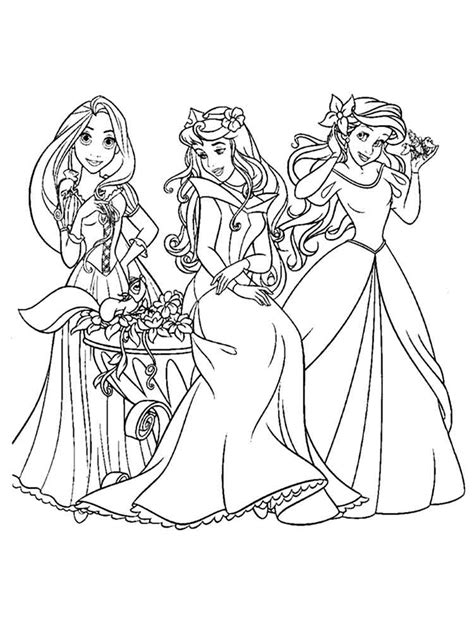 disney princess coloring pages free disney princess coloring pages to print free disney