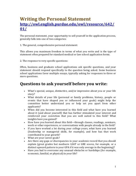 Resume Personal Statement Exles by What To Write In Personal Profile In Resume 28 Images