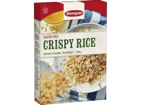 Crunchy Rice Crispy semper crispy rice allergikost no