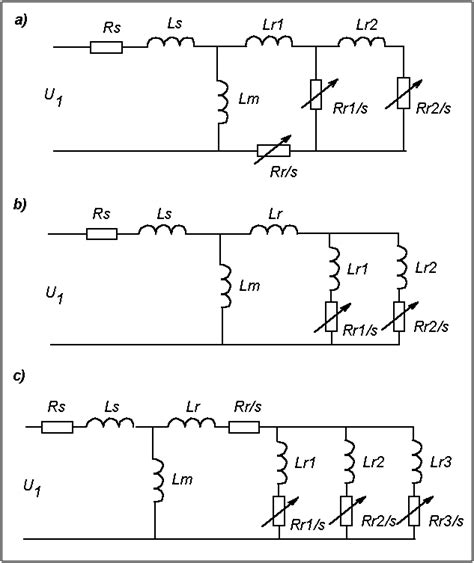 induction motor equivalent circuit diagram parameter identification of an induction motor